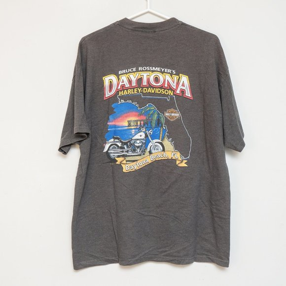 SOLDHarley-Davidson x Vintage - Double-sided Tee